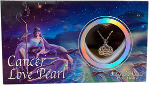 Love Pearl™ Cancer Zodiac Necklace DIY Oyster Opening Kit