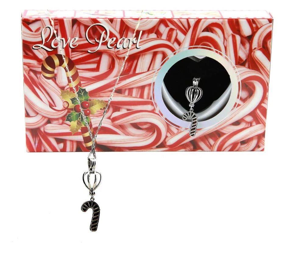 Love Pearl™ Candy Cane Necklace DIY Oyster Opening Kit
