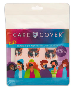 NEW! Cats Kids Care Cover Face Mask