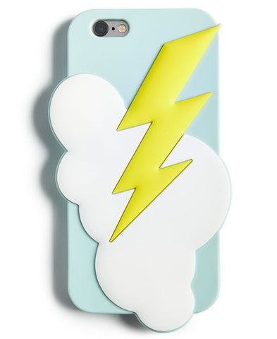 Lightning Bolt Silicon Cell Phone Case For Iphone 7