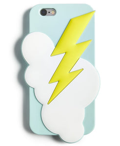 Lightning Bolt Silicon Cell Phone Case For Samsung Galaxy S7