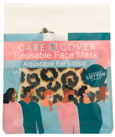 Cheetah Adult Care Cover Face Mask