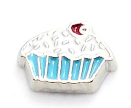 Cupcake Floating Charm