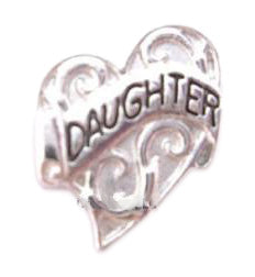 Daughter Floating Charm