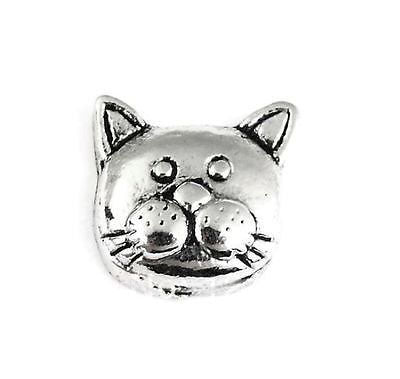 Cat Face Floating Charm