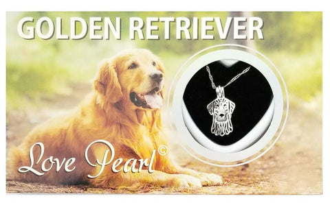 Love Pearl™ Golden Retriever Necklace DIY Oyster Opening Kit