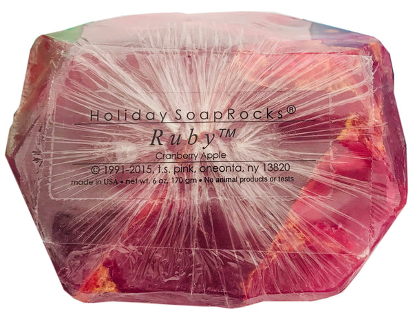 Holiday Ruby SoapRock