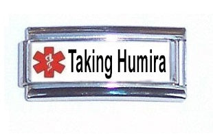 Taking Humira Super Link 9mm Italian charm