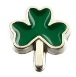 Lucky Clover Floating Charm