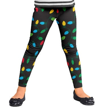Children's Christmas Leggings Size L Ages 8-10