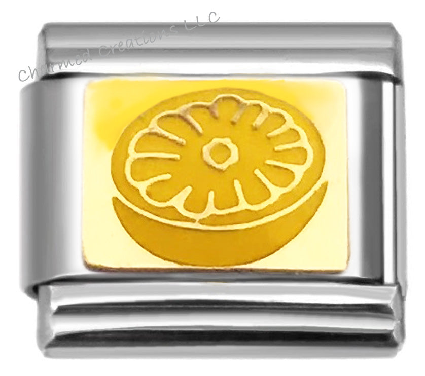 Lemon 9mm Italian Charm