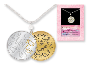 Mother Where All Love Begins Necklace