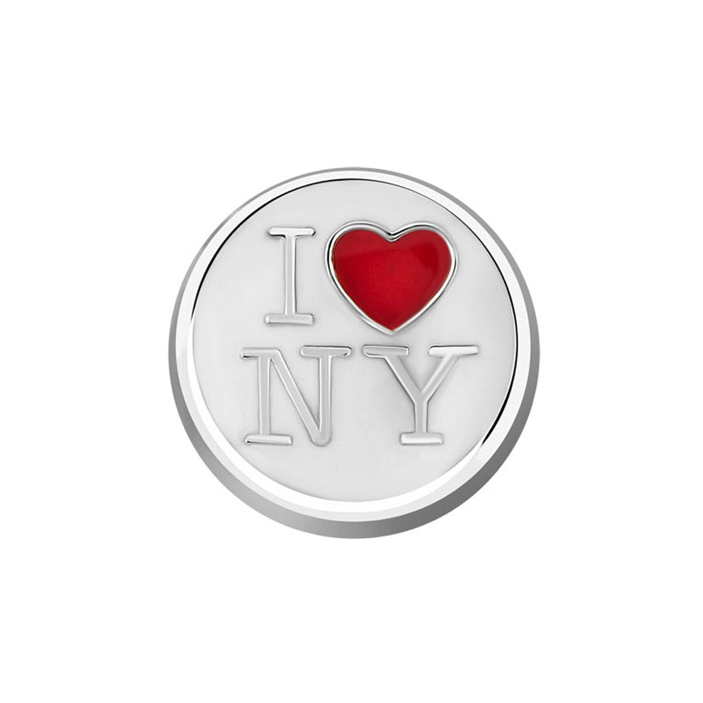 I Love NY Floating Charm
