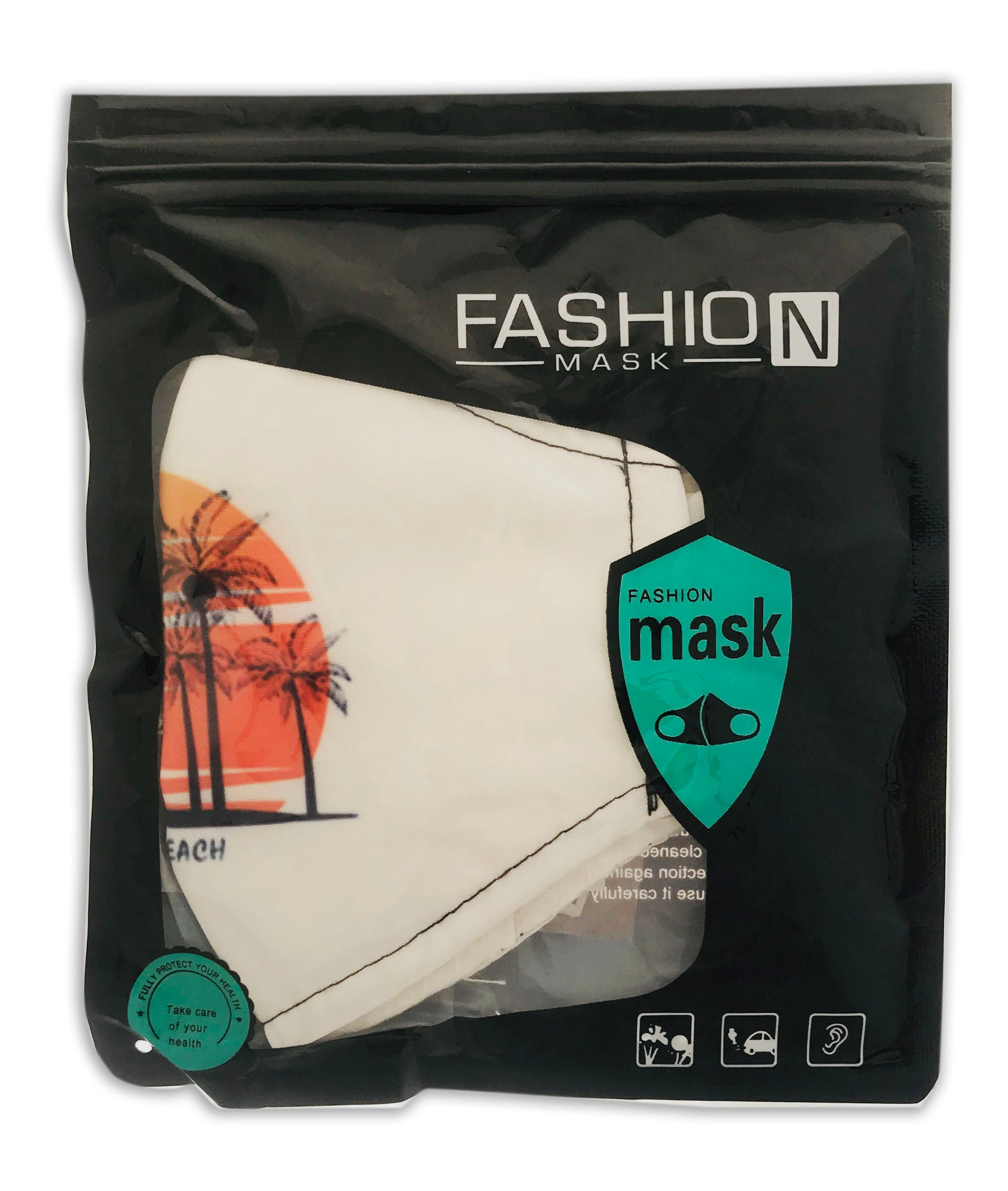 Palm Beach Face Mask + Free Filter