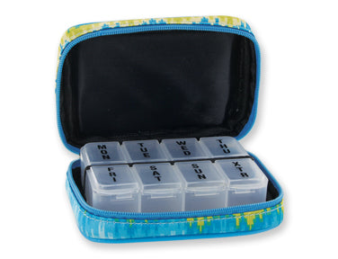 Aztec Azure Fashion Smart 7 Day Weekly Pill Box