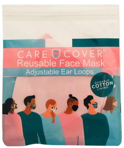 Pink Adult Care Cover Face Mask