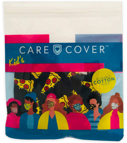 Pizza Kids Care Cover Face Mask