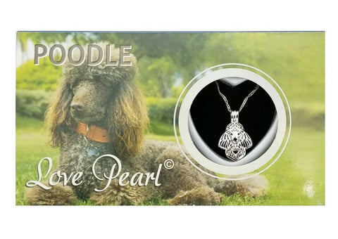 Poodle Necklace Love Pearl Mollusk Shell Kit