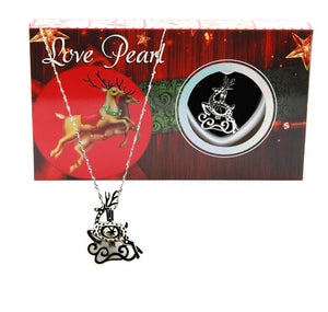 Love Pearl™ Reindeer Necklace DIY Oyster Opening Kit