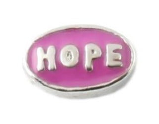 Pink Hope Floating Charm
