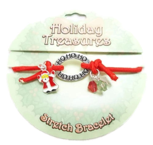 Holiday Treasures Christmas Stretch Bracelet