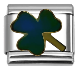 Mood Shamrock 9mm Italian charm