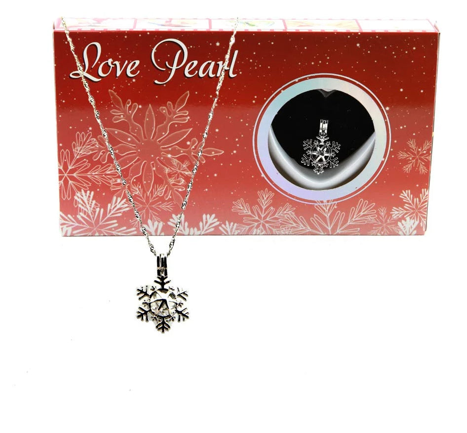Love Pearl™ Snowflake Necklace DIY Oyster Opening Kit
