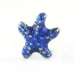 Blue Starfish Floating Charm