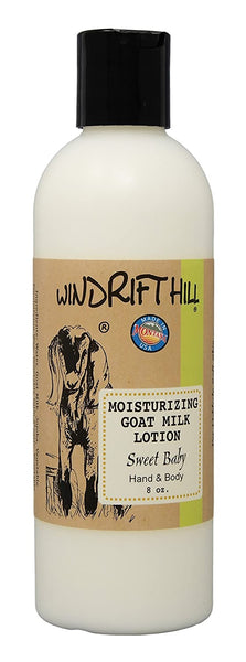 Windrift Hill Handmade Moisturizing Goats Milk Lotion For Dry Skin
