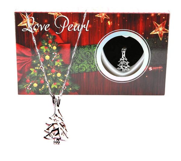 Love Pearl™ Christmas Tree Necklace DIY Oyster Opening Kit