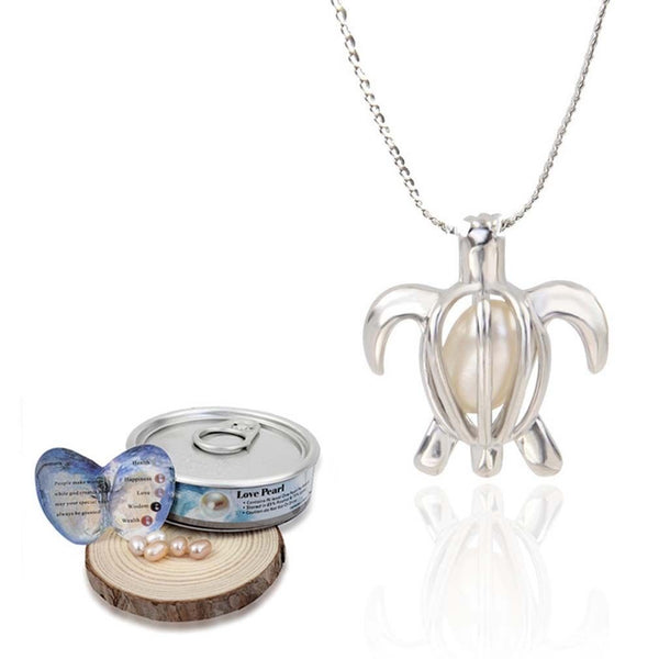 Love Pearl™ Turtle Necklace DIY Oyster Opening Kit