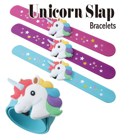 Unicorn Slap Band Bracelet