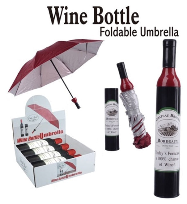 Wine Bottle Umbrella