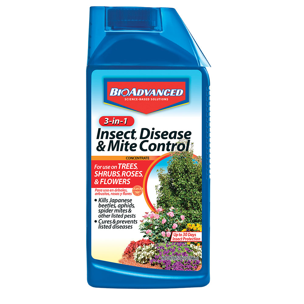 BioAdvanced™ 3 in 1 Insect, Disease & Mite Control For Sale | Shop Stuart's