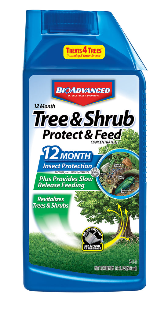 BioAdvanced™  12 month Protect &feed for trees and shrubs For sale | Shop Stuart's