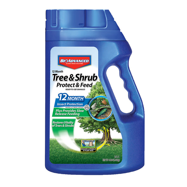 BioAdvanced™ 12 month Protect and feed for trees & shrubs granules, 4lb