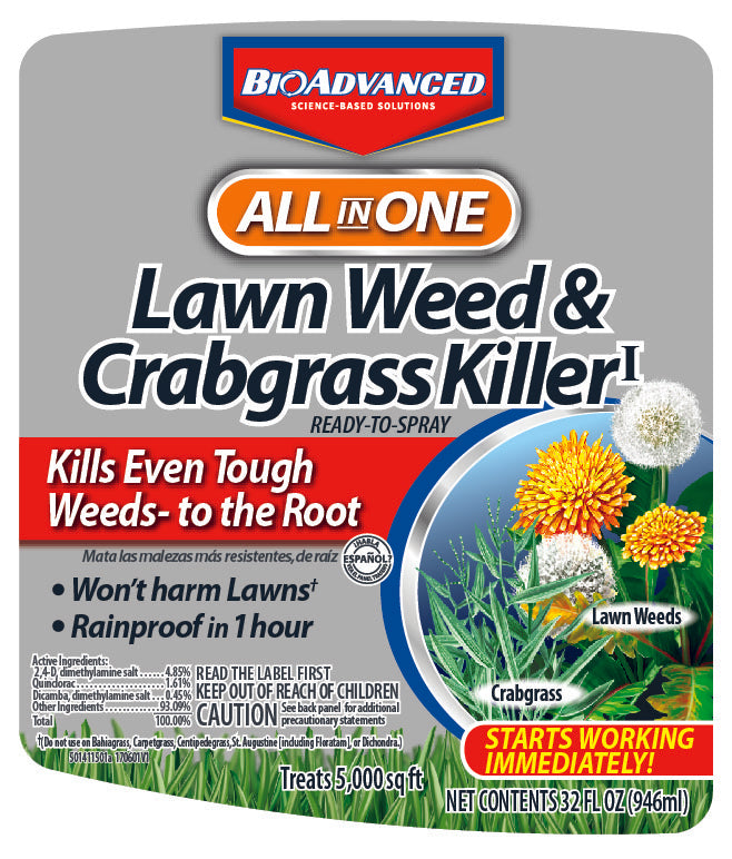 BioAdvanced™ Lawn weed killer & Crabgrass killer for sale | Shop Stuart's