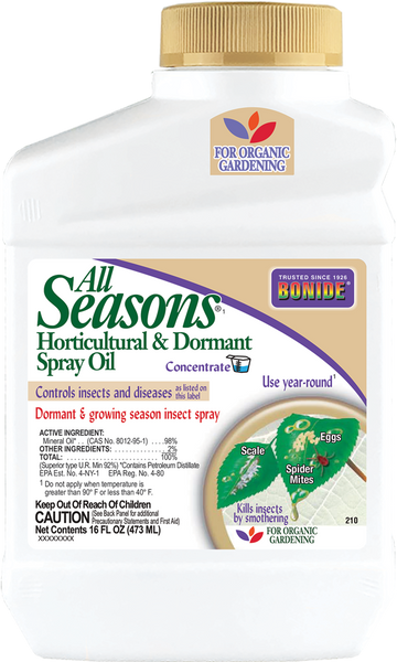 Bonide All Seasons Oil Concentrate, 16 oz