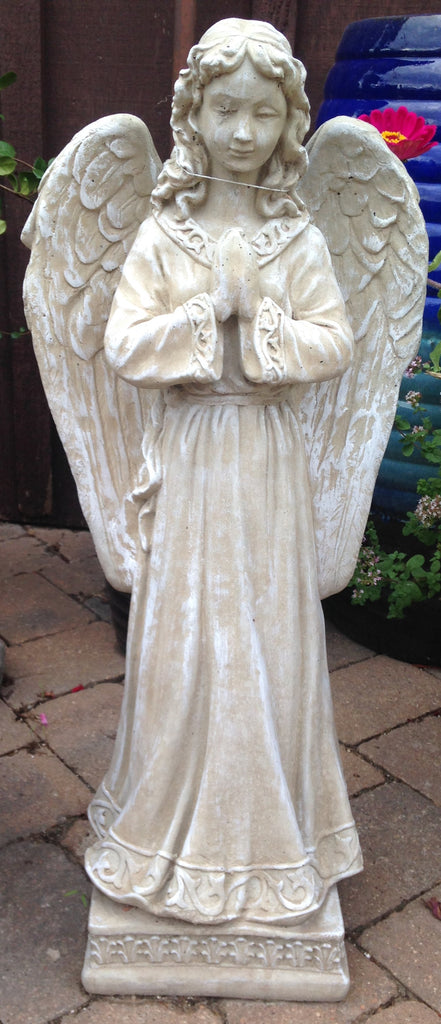 Statue-Angel on Pedestal