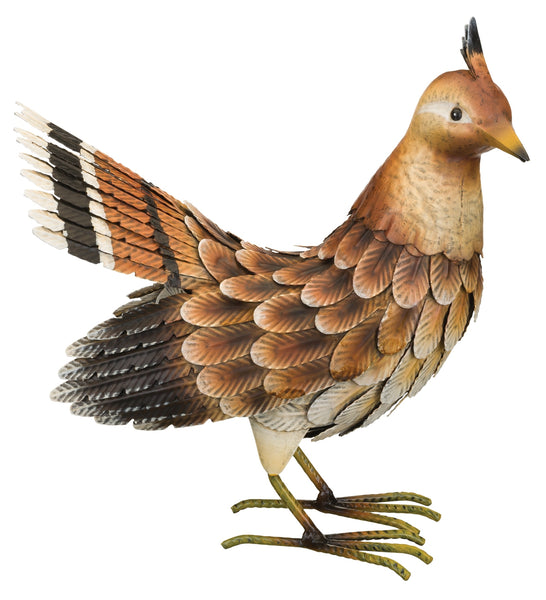 Garden Decor-Bird Grouse Ruffed- Figurine By Regal