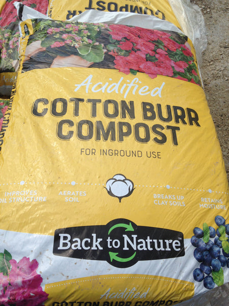 Compost-Cotton Bur Acidified, 2cubic feet