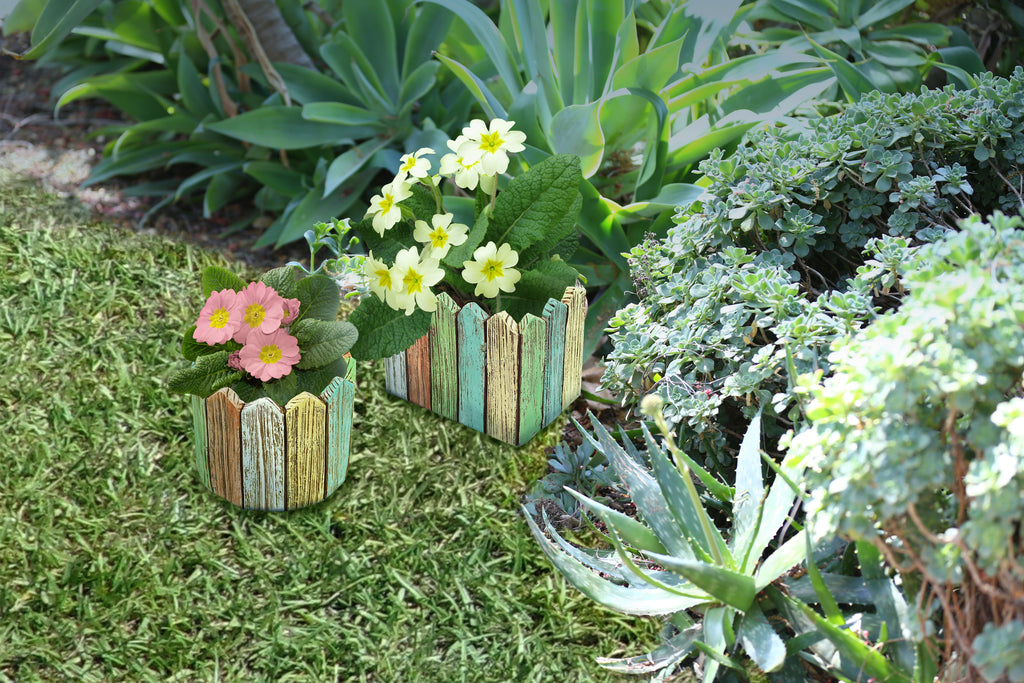 Planters-Rectangle and Round Picket Fence By Alpine for sale | Shop Stuart's