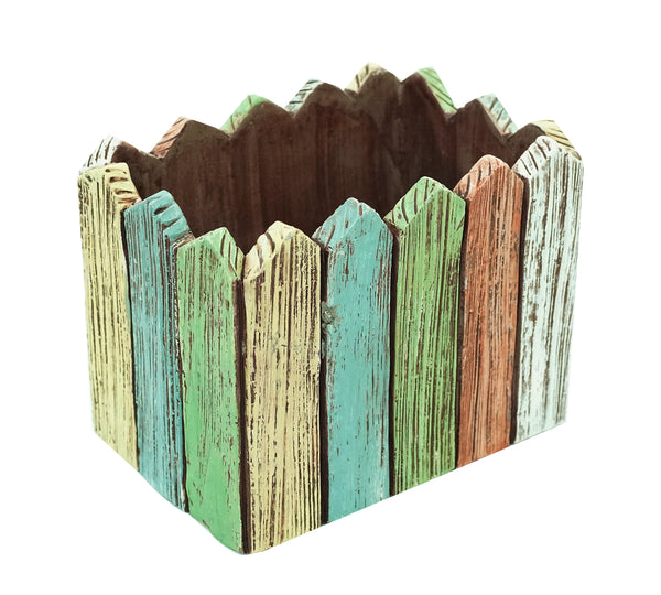 Planter-Rectangle Picket Fence By Alpine for sale | Shop Stuart's