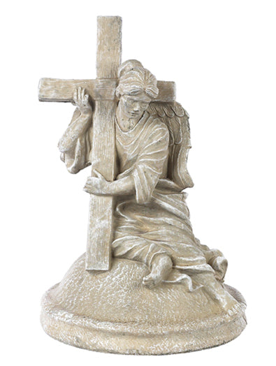 statue Angel with Cross