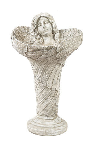 Standing Angel Birdbath For Sale | Shop Stuart's