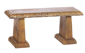 Oak Leaf Straight Leaf Bench For Sale | Shop Staurt's