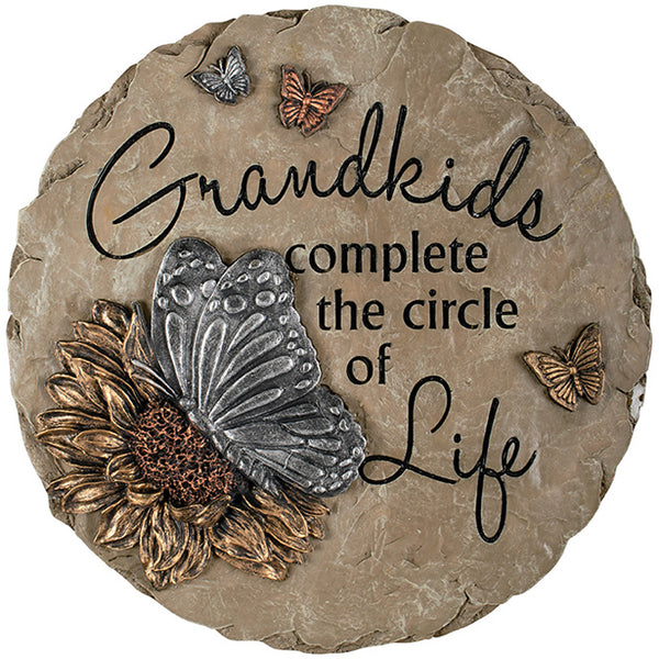 "Stepping stone-""Grandkids"" by: Carson"