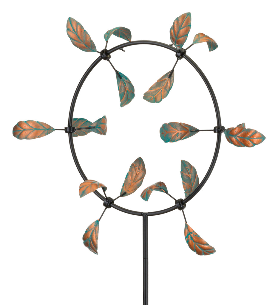 Stake 'Leaf Spinner' Photo courtesy of Regal Art & Gift