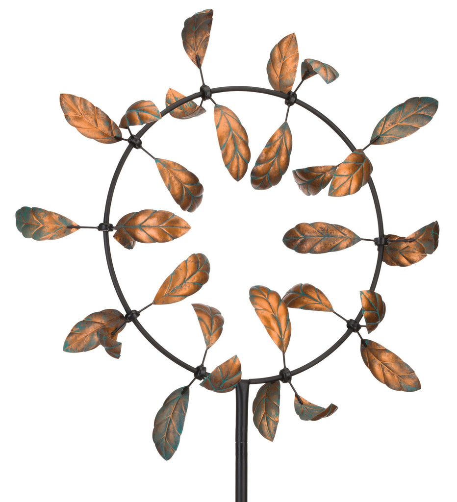 Stake 'Leaves Spinner' Photo courtesy of Regal Art & Gift