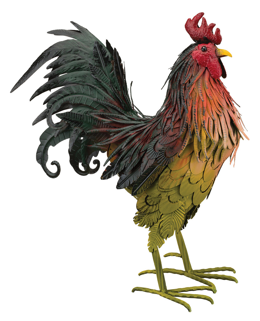 "Garden Decor- Napa Rooster 21"" figurine By Regal"
